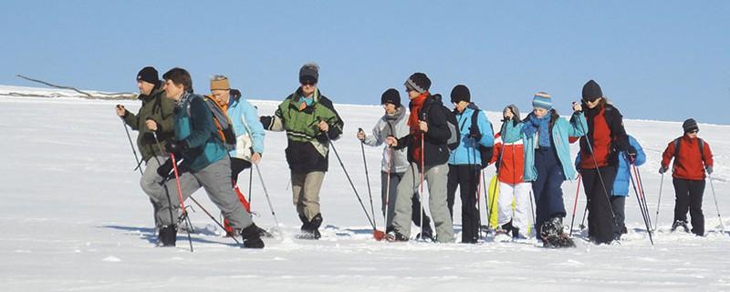 Faszination Schneeschuhwandern